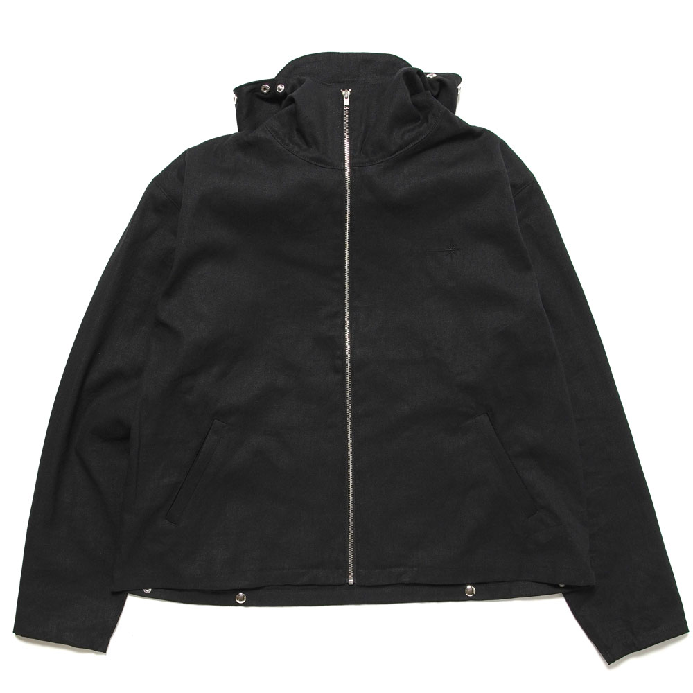 ENOKI HEMP ORGANIC JACKET BLACK&GREY