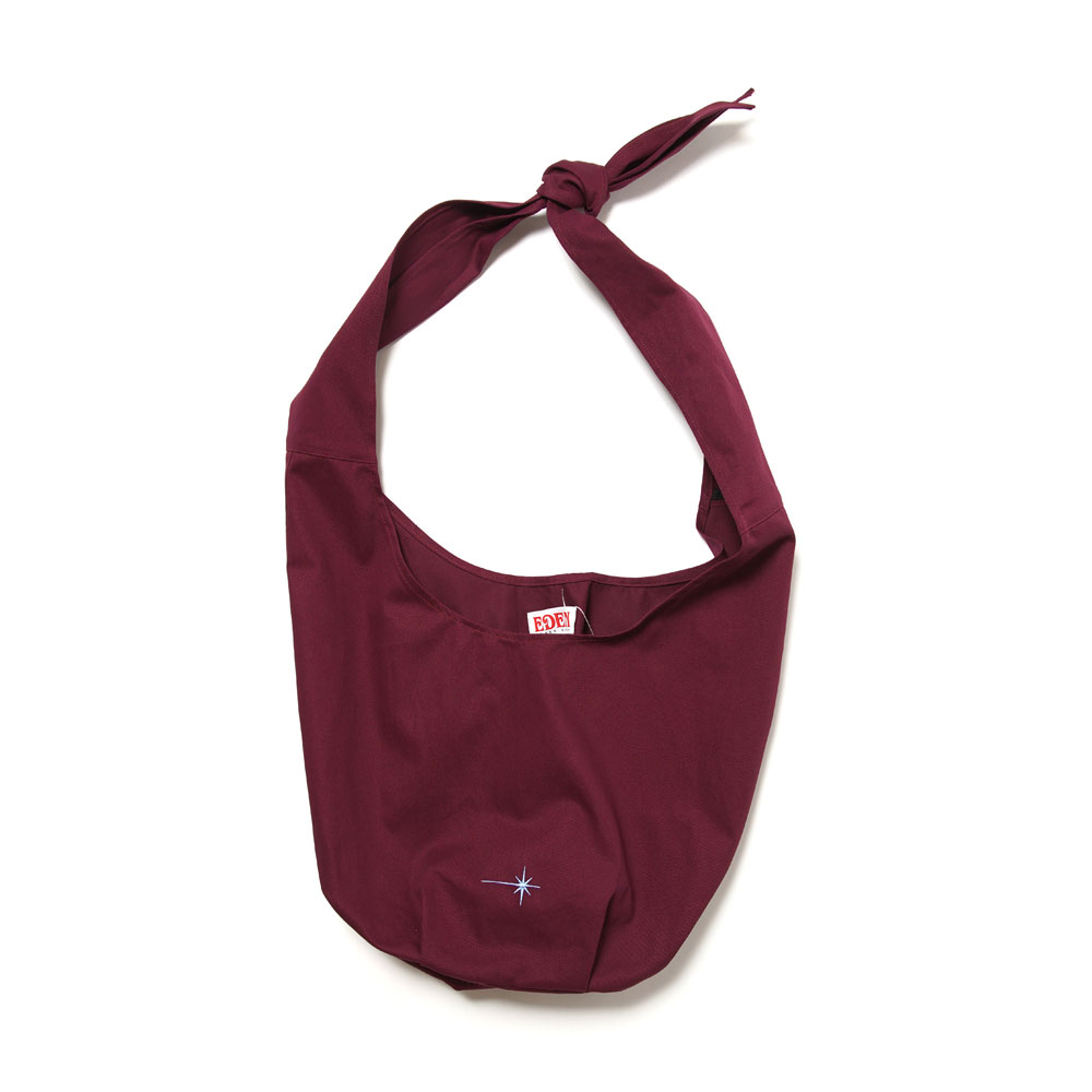 ARRAKIS ORGANIC COTTON BAG PLUM&WHITE