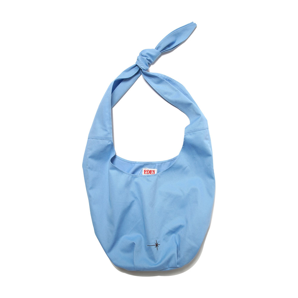 ARRAKIS ORGANIC COTTON BAG LIGHT BLUE&WHITE