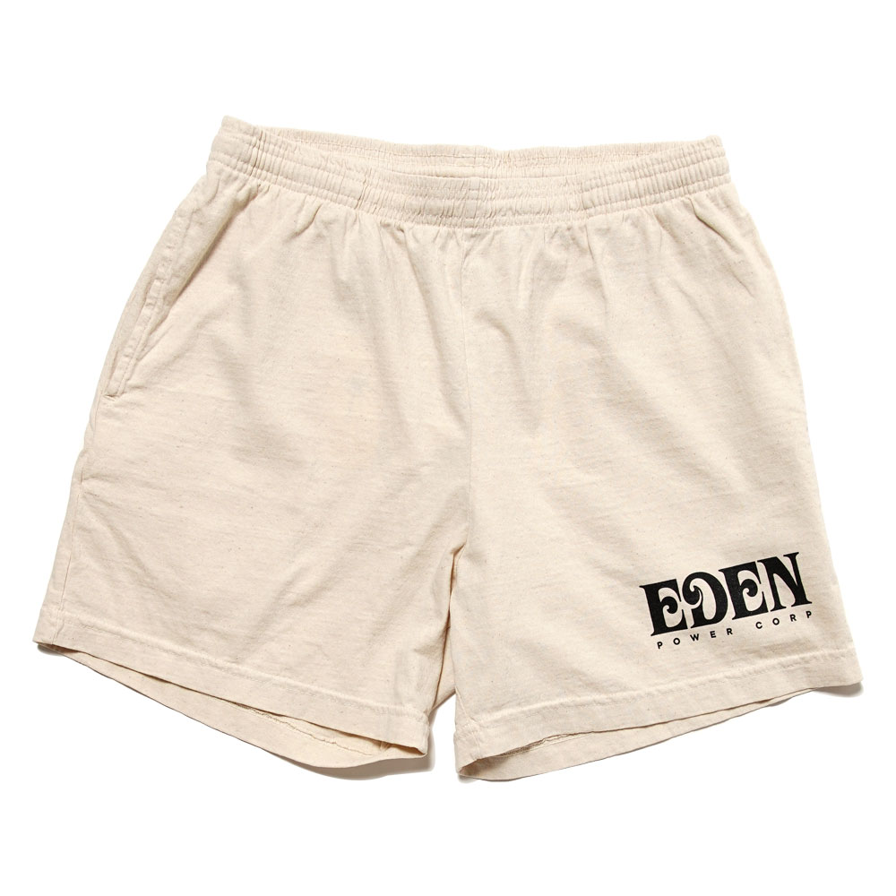 EDEN SWEAT RECYCLED SWEATSHORT BEIGE