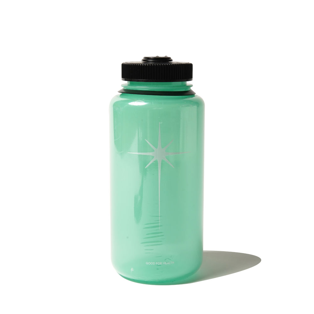 SHINING STAR NALGENE 1L BOTTLE GREEN GLOW