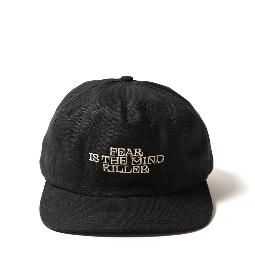 FEAR IS THE MIND KILLER TRUCKER CAP HEMP+ORGANIC BLACK