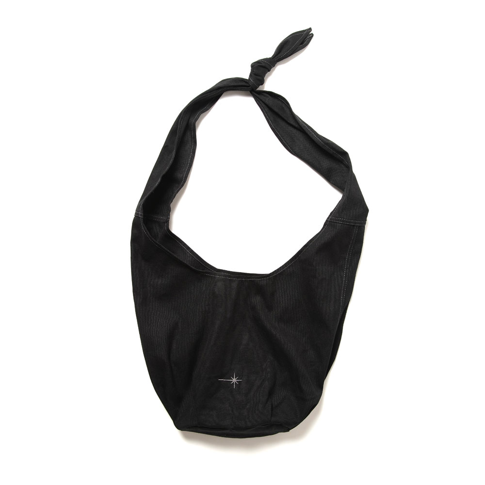 ARRAKIS BAG RECYCLED+ORGANIC BLACK