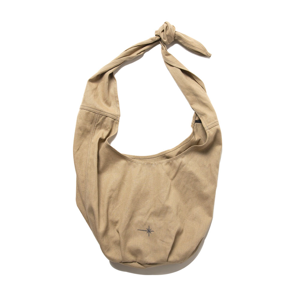 ARRAKIS BAG RECYCLED+ORGANIC TAN