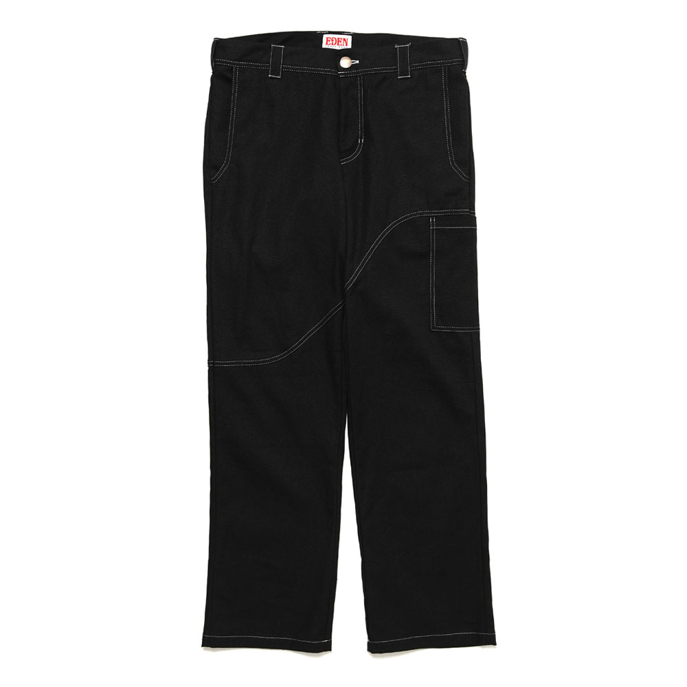 CORP PANTS HEMP+ORGANIC BLACK