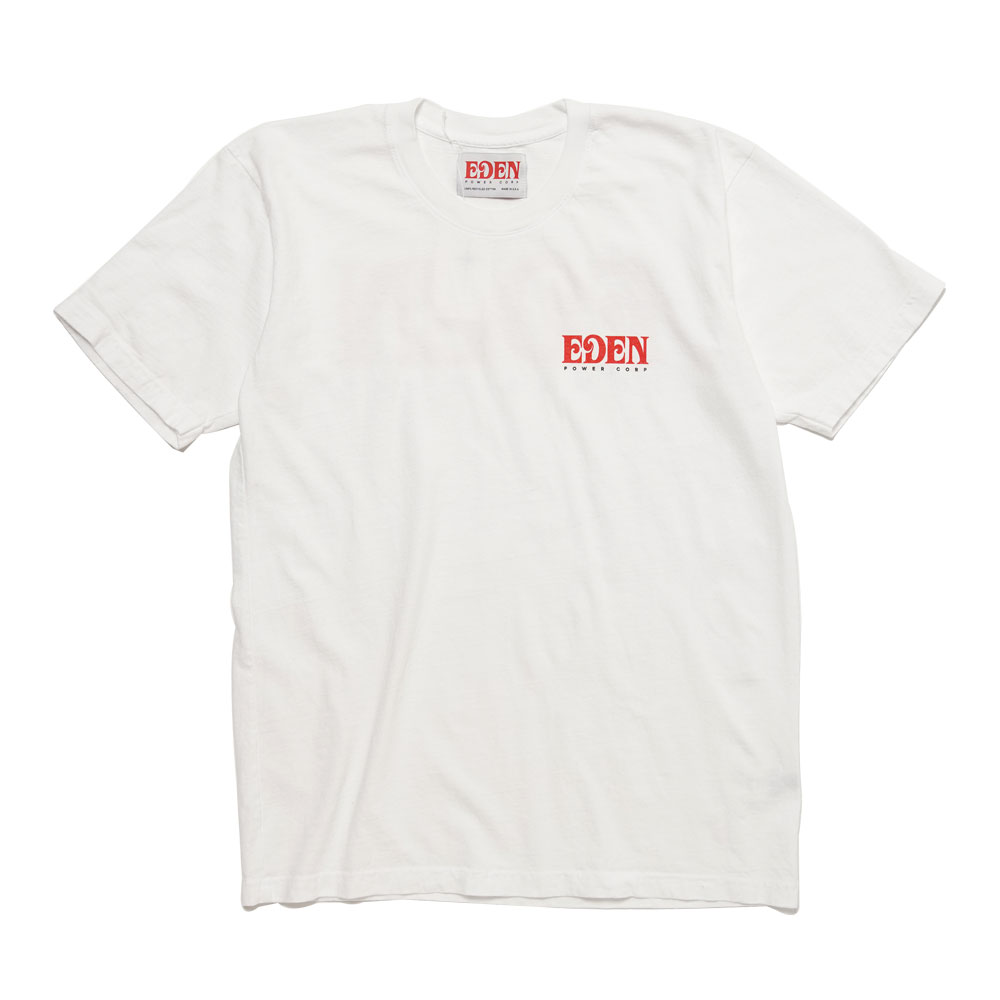 EDEN RECYCLED T-SHIRT WHITE