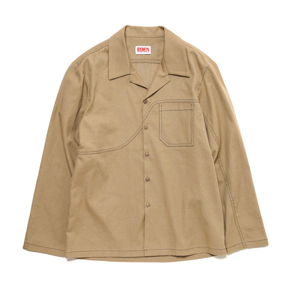 FIELD SHIRT HEMP+ORGANIC TAN