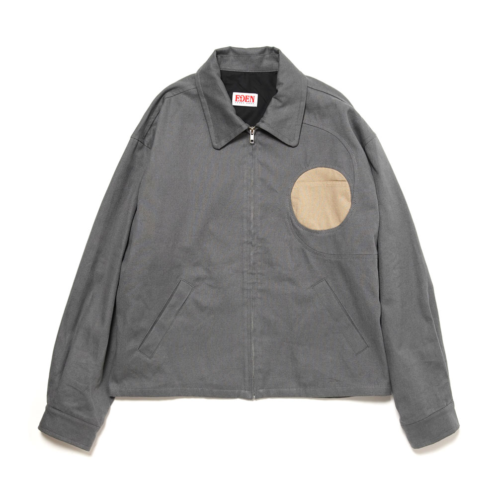 VORT JACKET HEMP+ORGANIC GREY